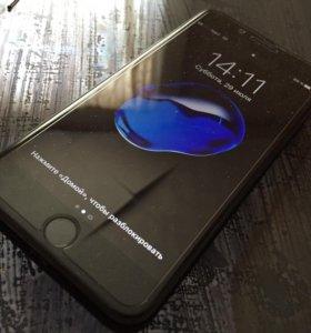 iPhone 7 plus 256Gb Jet Black Чёрный Оникс LTE
