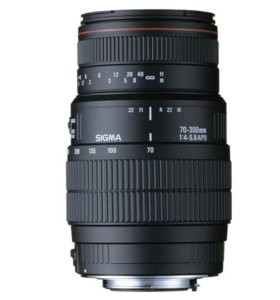 SIGMA 70-300 mm f/4-5.6 APO for Nikon/Canon