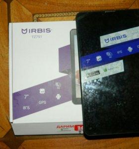 Планшет Irbis TZ751