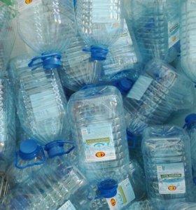 Тара. Пластмассовые бутылки 5 литров