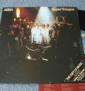 "ABBA""Super Trooper"" UK EX+/NM"
