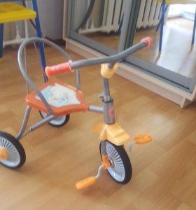 Велосипед трех колесных