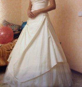 Свадебное платье Anna Rossi цвет шампань