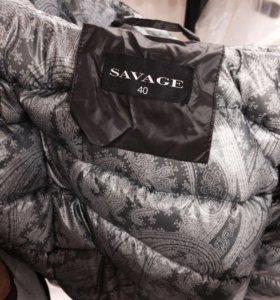 Пальто зимнее Savage