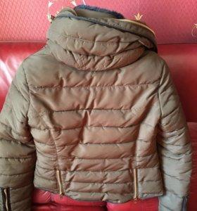 пуховик куртка зимняя zara