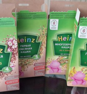 Каши Heinz без молока
