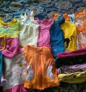 Вещи на девочку пакетом на 1-2 года