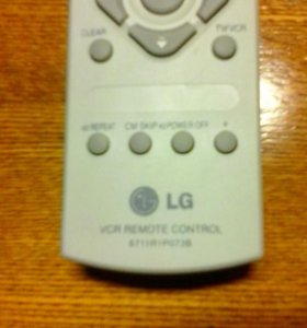 Пульт для телевизора и видеоплеера LG 6711 R1P073B