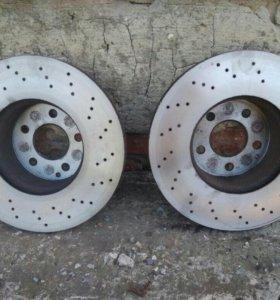 Тормозные диски на Мерседес S 320(W220)
