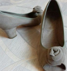 Туфли под замш р.39-40