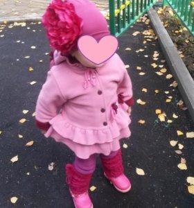 Пальто и шапочка