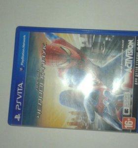 Продам игру новый человек-паук для приставки Vita