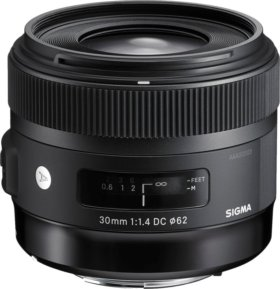 SIGMA 30 mm f/1,4 DC HSM A for Nikon\Canon