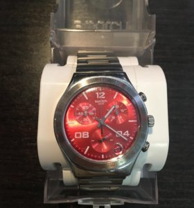Часы swatch металлические