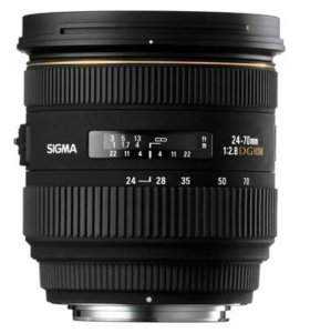 SIGMA 24-70 mm f/2,8 IF EX DG HSM for Nikon