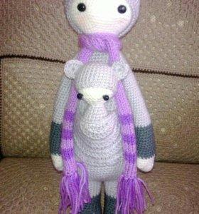 Кукла кенгуру Кира с кенгуренком