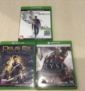Продажа обмен диски на Xbox one