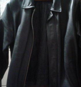 куртка кожаная (демисезон и зима)