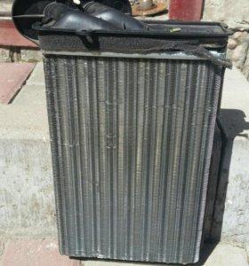 Радиатор печки на VW GOLF 3