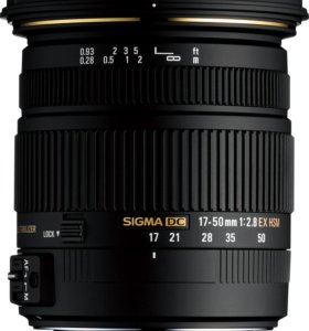SIGMA 17-50 mm f/2,8 EX DC OS HSM for Nikon