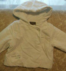 Куртка 3-6 месяцев
