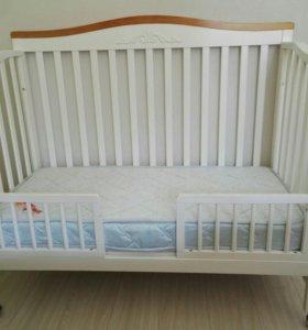 Кроватка детская Джованни + матрас
