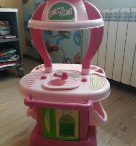 Кухня детская пластик