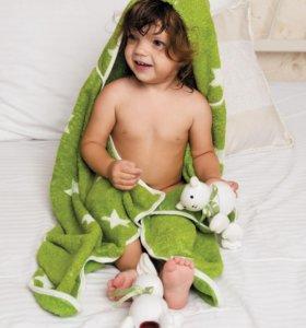 """Happy Baby Полотенце с капюшоном """"Fluffy"""""""