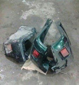 Накладка на бампер (уголок) УАЗ Патриот
