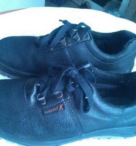 Туфли натуральные, спецовочные