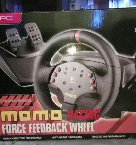 Руль игровой MOMO Racing