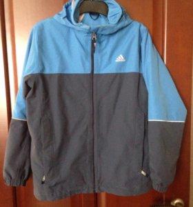 Куртка осень, весна АDIDAS 11-12 лет 152см.