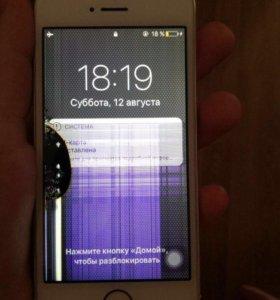 Торг iPhone 5s золотой 16гб