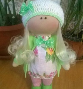 Интерьерная куколка,28 см