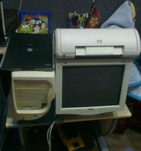 Продам офисный комп.с принтером и сканером