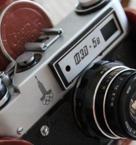 Продам 2 пленочных фотоаппарата СССР