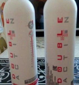 Double action фаза 1 и 2 горячее обертывание волос