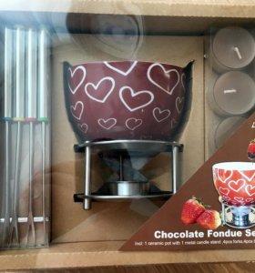 Фондю набор новый для шоколода фондюшница