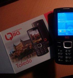 Телефон BQ Toledo 2 симки