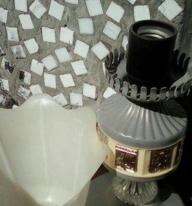 Советская настольная лампа