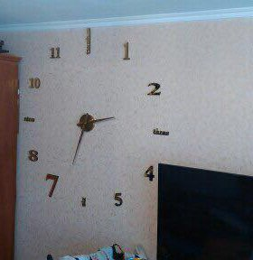 Большие настенные часы-новые