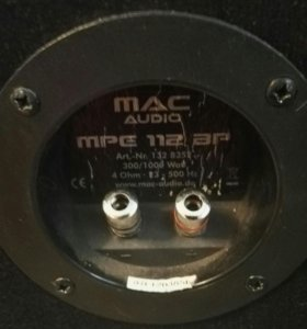 Subwoofer mac audio mpe 112bp