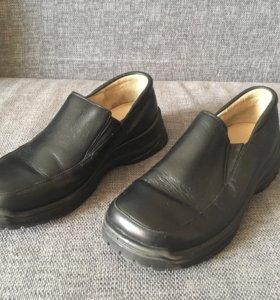 Ботинки детские чёрные натуральная кожа