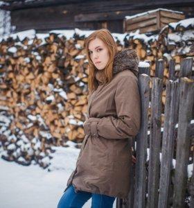 Парка зимняя benneton
