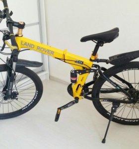 Велосипед складной горный land rover