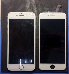Замена дисплея/крышек/корпусов/АКБ iPhone