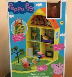 Домик Пеппы с садом новый