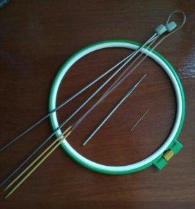 Вязание;вышивка