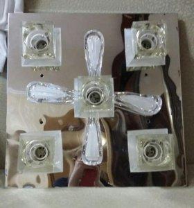 Люстра с 3 режимами на пульте управления