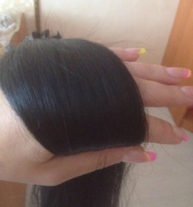 Наращивание волос .